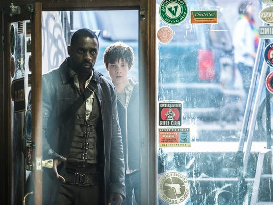 While in New York City, Roland (Elba) and Jake Chambers, played by Tom Taylor, work together to bring down the Man in Black.