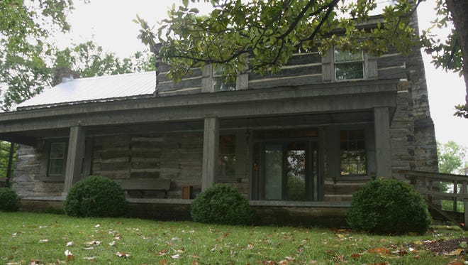 The Buchanan Log House