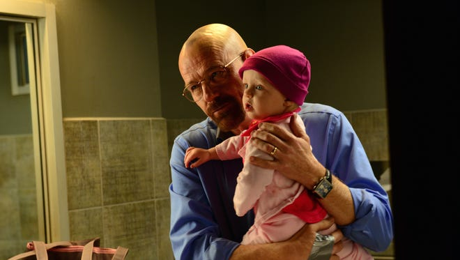 "Walter White (Bryan Cranston) kept viewers mesmerized in ""Breaking Bad."" The series finale generated a record 1.24 million tweets."