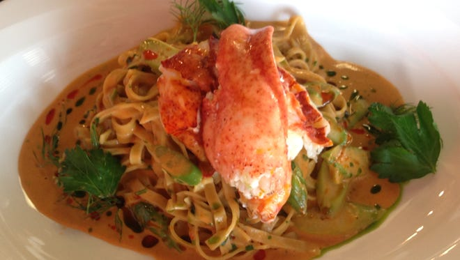 Linguine is made daily at Petar's Restaurant in Bonita Springs as part of Chef Petar Al Kurdi's signature dish, lobster linguine.