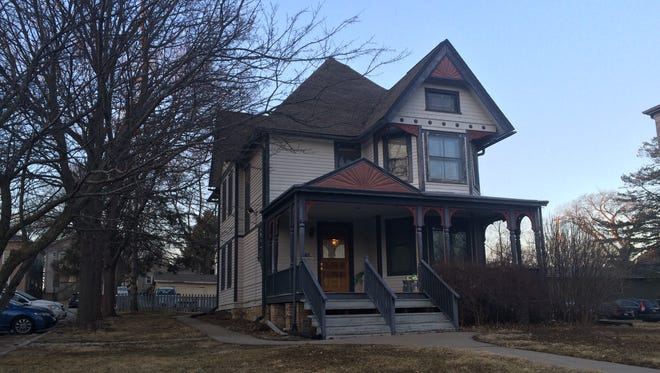 The Houser-Metzger House at 422 Iowa Ave. is moving to 623 E. College St.
