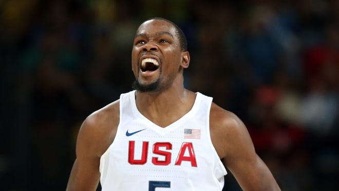Kevin Durant is trying to win his second Olympic gold medal with Team USA.