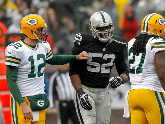 NFL: Green Bay Packers at Oakland Raiders