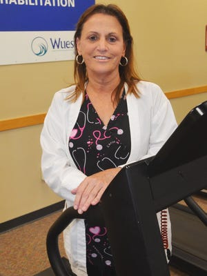 Debbie Whitnable, RN, is manager of Cardiopulmonary Rehabilitation at Wuesthoff Medical Center, Rockledge
