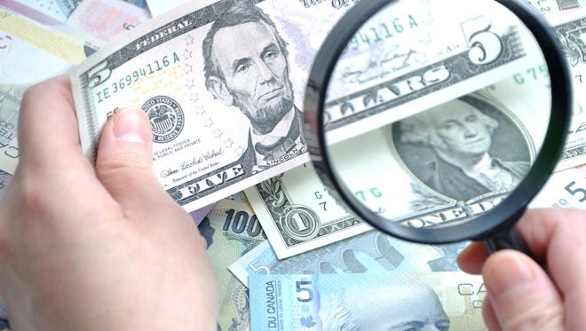 Someone created a bogus check that scammed Tippecanoe County taxpayers of $2,600.