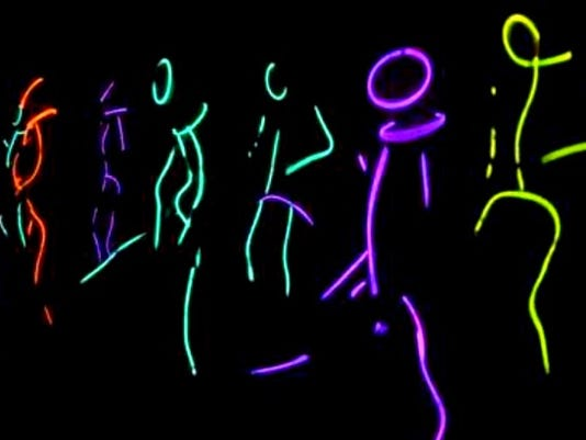 WATCH: Teachers surprise students with glow stick dance routine