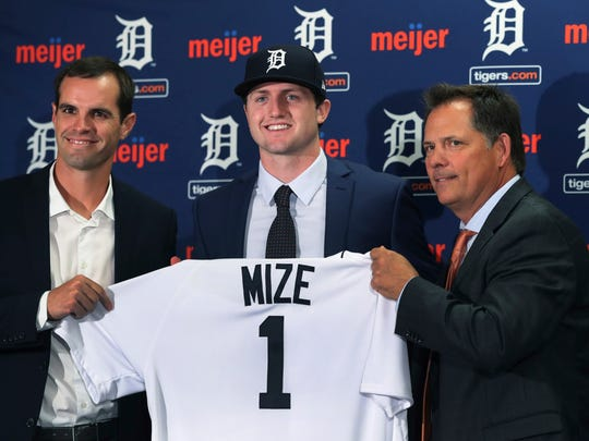 Casey Mize on June 25, 2018.