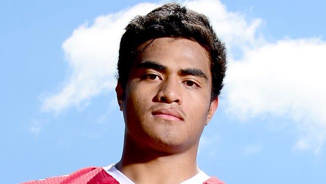 Asheville High junior Andrew Leota.