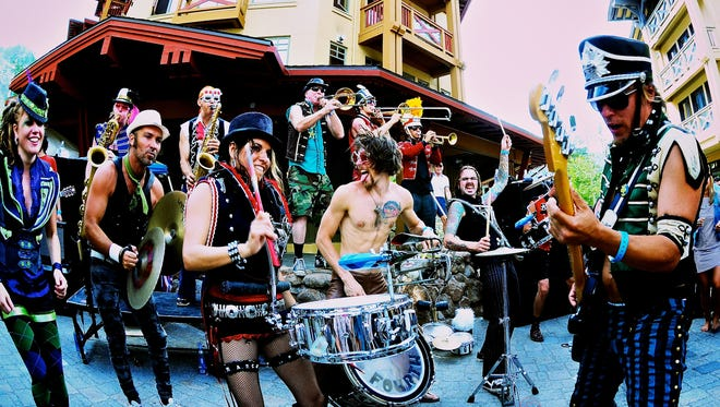 MarchFourth Marching Band will perform as part of Salem Sunday Streets.