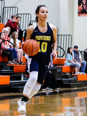 PCA's Mariah Edmonds was named area girls basketball player of the week for Feb. 5-10.