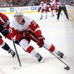 Wings' points streak hits 11 in shootout loss to Caps