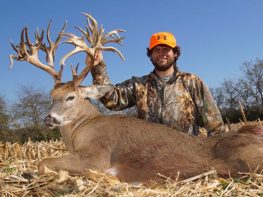 Gallatin resident Stephen Tucker killed the deer, which had a 47-point rack.