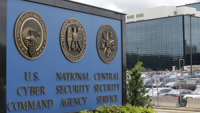 National Security Administration (NSA) campus in Fort Meade, Md. Britain's electronic spying agency, in cooperation with the NSA, hacked into the networks of a Dutch company to steal codes that allow both governments to seamlessly eavesdrop on mobile phones worldwide, according to the documents given to journalists by Edward Snowden.