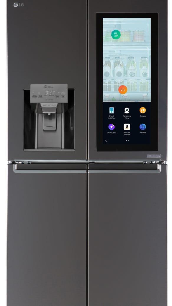 Smart Refrigerator Lg