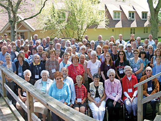 A Nickerson Family Association reunion in 2015 in Plymouth,
