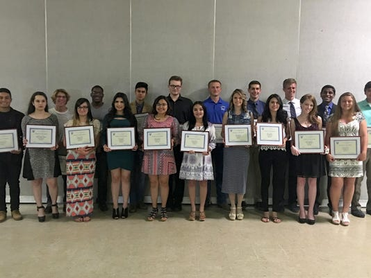Elks Students of the Month