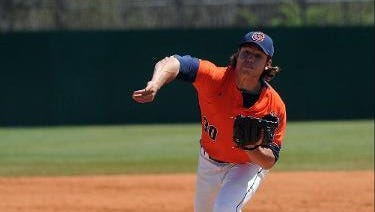 Roberson alum Carson Bryant is a senior for the Carson-Newman (Tenn.) baseball team.