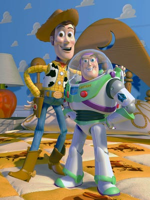 Woody and Buzz Lightyear reveal a few of their Pixar secrets.