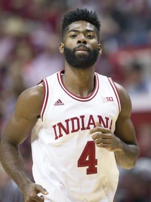 Robert Johnson finished his IU career this season.