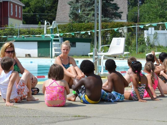 Swimming and safety lessons begin at Camp Splash in Winooski.