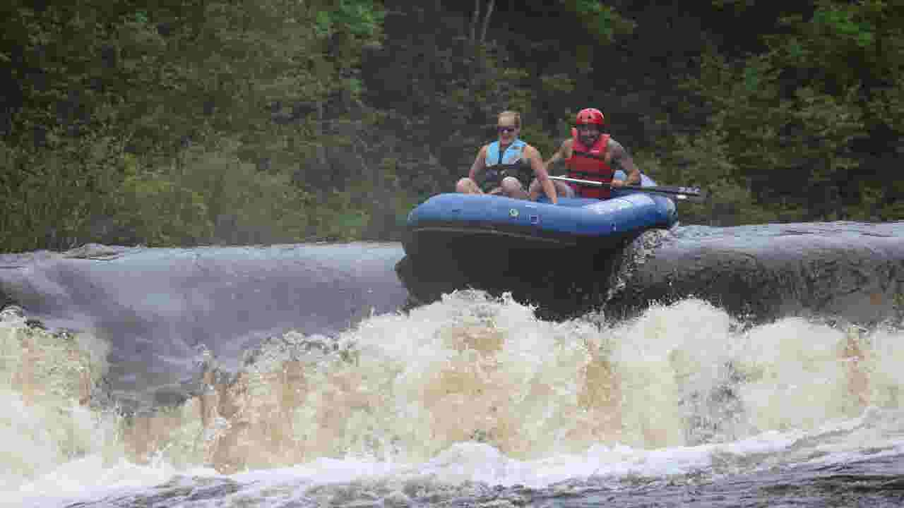 Whitewater rafting on Wisconsin's Wolf River is a wild thrill