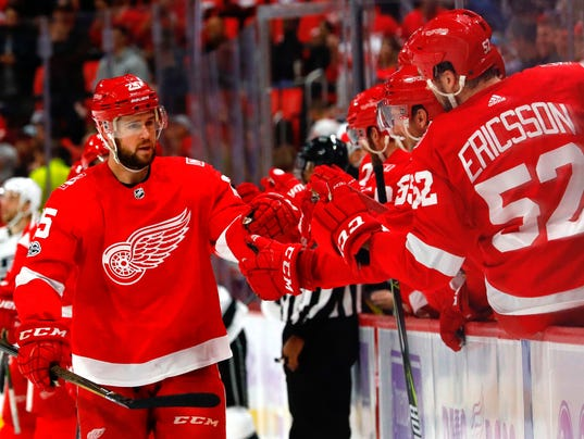 USP NHL: LOS ANGELES KINGS AT DETROIT RED WINGS S HKN,DET,LAK USA MI
