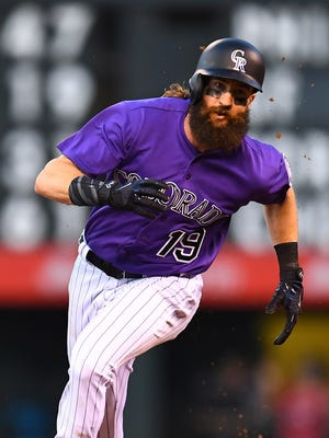 Charlie Blackmon and the Rockies are playing well this season.