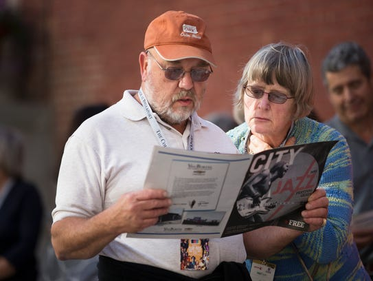Jim and Patti Ruppert of Springwater plan out their