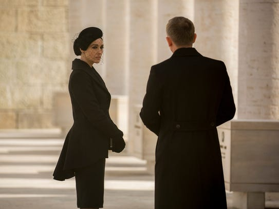 In 'Spectre,' Monica Bellucci stars as an Italian woman
