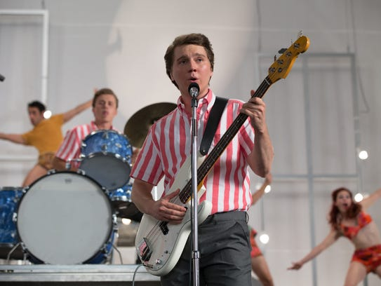Paul Dano as Brian Wilson, in a scene from Beach Boys