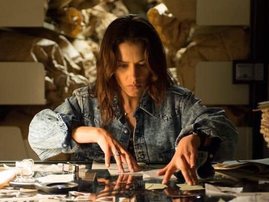 Hannah Ware as Katia van Dees in 'Hitman: Agent 47.'