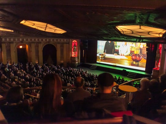 Opening night of the 2015 Freep Film Festival at the