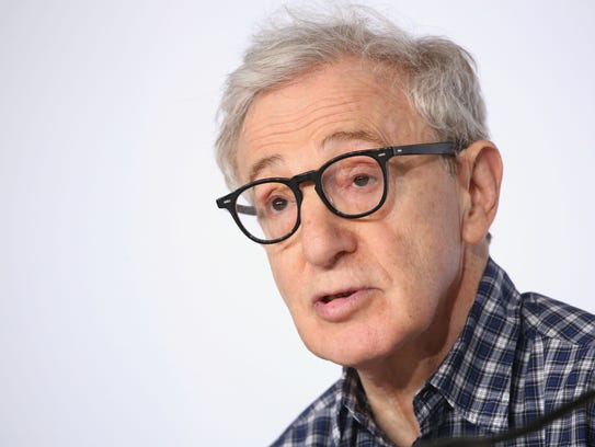 Director Woody Allen attends a press conference May
