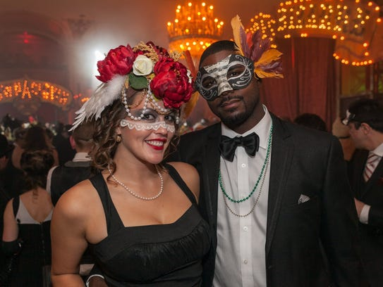 Theatre Bizzare's black tie masquerade gala in Detroit
