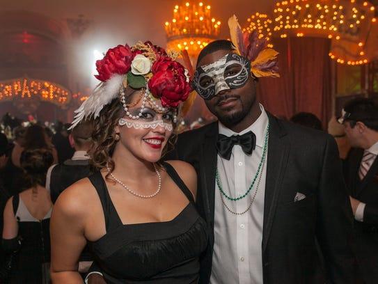 Theatre Bizzare's black tie masquerade gala in Detroit