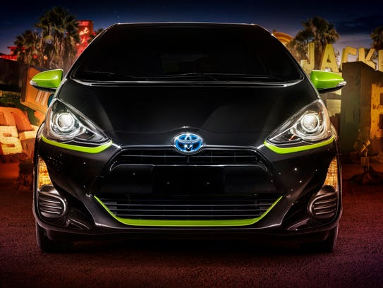 Toyota has a limited edition version of the Prius C
