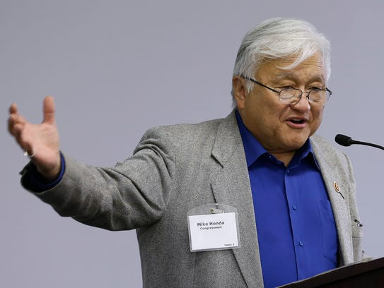 Rep. Mike Honda, D-Calif., took an eight-day trip to