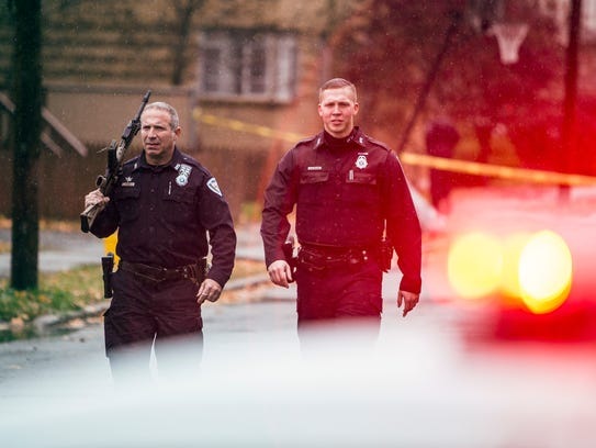 Binghamton police responded to a shots fired incident