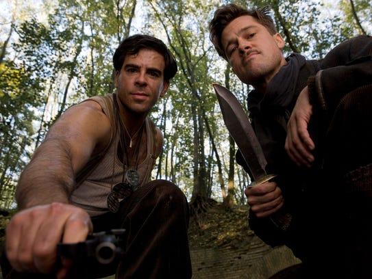Eli Roth and Brad Pitt seek retribution in 'Inglourious