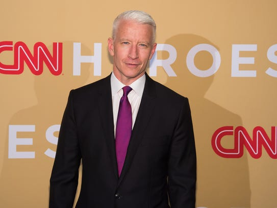 Anderson Cooper on Nov. 17, 2015 in New York.