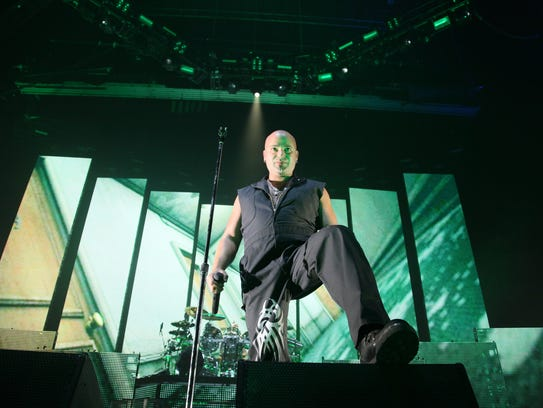 Lead singer David Draiman of the band Disturbed will