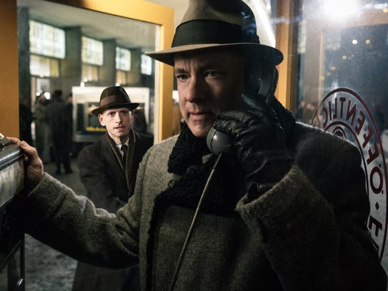 "Tom Hanks appears in a scene from ""Bridge of Spies."""