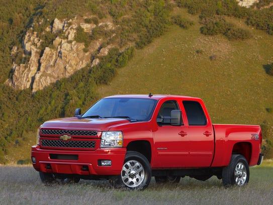 2013 Chevrolet Silverado 2500 HD ranked most dependable