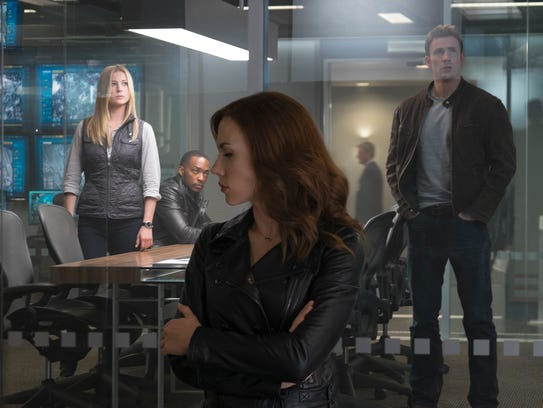 Black Widow (Scarlett Johansson) finds herself on an