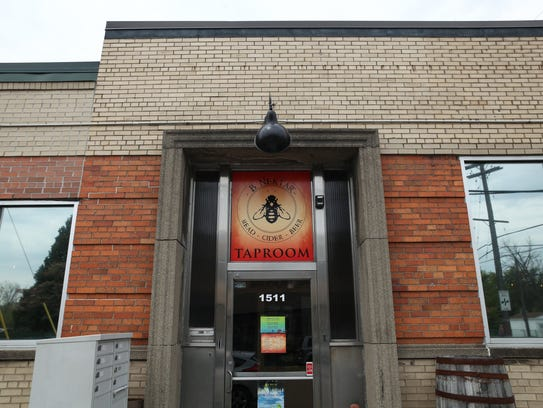 The B. Nektar Taproom is located at 1511 Jarvis in