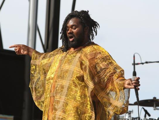 Tunde Olaniran, an experimental pop artist from Flint,