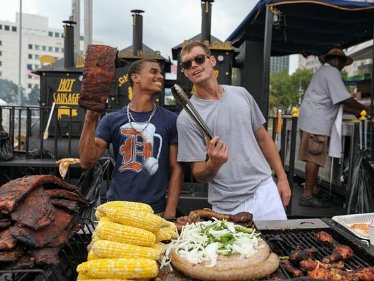 The Ribs and R&B Music Festival returns to Hart Plaza