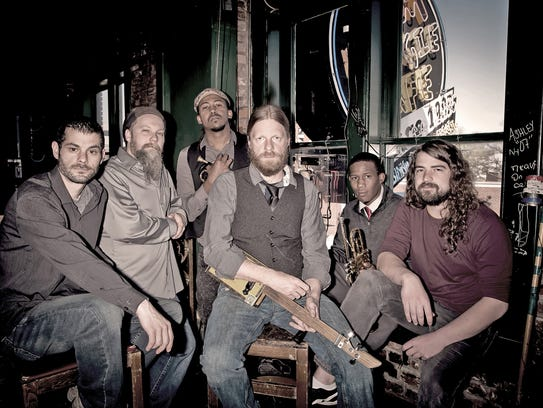Memphis-based Ghost Town Blues Band includes both horns