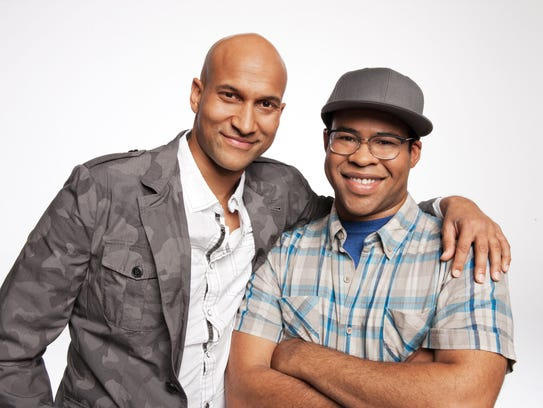 "Comedy Central's ""Key & Peele"" sketch comedy show featuring"