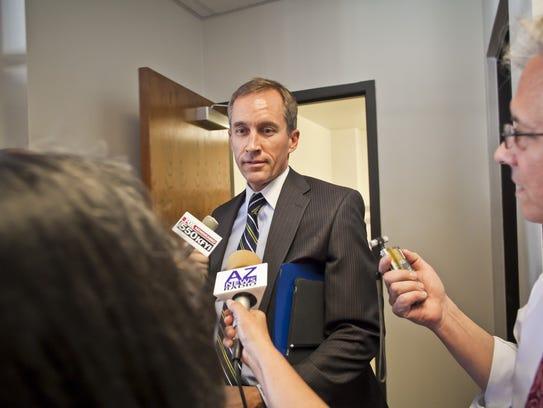 State Sen. Scott Bundgaard resigned from his position